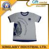 Le T-shirt imprimé des hommes de conception de mode avec le marquage à chaud de coutume (KTS-002)