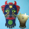Promotion (Ele-P010)のための習慣3D Enamel Mask Metal Badge