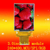 3.0inch 240 *400, Ili9327, MCU/Spi/RGB Interface Touch LCD Display