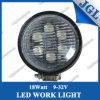lámpara 4X4 del trabajo de 18W LED que trabaja el coche campo a través del alimentador ligero