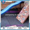 Azulejos de suelo de goma al aire libre, estera de goma enlazable de la gimnasia del patio