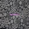 Beau Flower Design Lace Fabric pour Garment