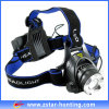 Poder más elevado Black Xml-T6 1200lm Rechargeable LED Bright Head Lamp (ZSBL0003)