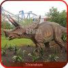 Qualität handgemachter Animatronic Triceratops-Dinosaurier