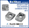 M12 sujetador Fix perno galvanizado maleable Ironked Beam Clamp Ba1g12