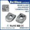 Abrazadera maleable galvanizada tornillo Ba1g12 de la viga de Ironked del arreglo del sujetador M12