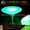 Mobilia illuminata del giardino LED della Tabella del PE