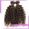 インドの人間の毛髪100のかぎ針編みのブレードの人間の毛髪のねじれた巻き毛