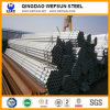 Round galvanizzato Pipe per Scaffold Use
