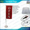 De verticale Vlaggen van de Banner van de Rechthoek van de Vlag (NF04F06063)