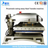 Fashion Stype Swing Away Pneumatic Heat Transfer Printing Machinery with LCD Controller