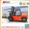 Levering Vmax Vorkheftruck van de Jonge kip van 6 Ton de Dieselmotor Aangedreven