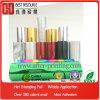 Color sobre el papel caliente de lámina para gofrar de 180 clases, plástico, cuero, tela, vidrio
