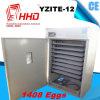 Hhd 98% Uitbroedende Incubator van de Kip van 1408 Eieren van het Tarief Automatische
