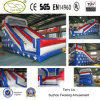 Flag Pattern Inflatable Slide, Water Slider for Sale