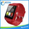2016答えの熱い販売法のタッチ画面U8 Smartwatchは電話Bluetoothの写真の高度のメートルに電話をかけ、