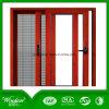 Aluminio social Windows de desplazamiento de los proyectos y puertas con la pantalla de la mosca