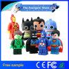 최고 선물 슈퍼 영웅 복수자 또는 수퍼맨 또는 배트맨 또는 높은데서 일하는 사람 Pendrive USB 2.0 저속한 드라이브