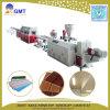 Máquina de extrudado decorativa del perfil de la tarjeta del panel de techo del PVC del plástico