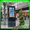 Visualización al aire libre del LCD de la pantalla táctil del tótem de la señalización de Digitaces del alto brillo