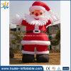 Modello gonfiabile di festa del Babbo Natale di natale