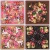 Изготовленный на заказ шарфы печатание 100% цифров Silk (F-008)