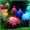 Lampes à cordes LED Lampe solaire Éclairage décoratif Feuilles à quatre feuilles Clover Feuilles de Noël Lampe étanche à LED 50 LED