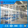 Cremalheira industrial do assoalho de mezanino do armazenamento do armazém