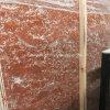 지면 도와와 싱크대를 위한 중국 Polished Rosso Levanto 빨간 대리석 석판