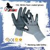 Schaumgummi des Nitril-15g beschichtete Sicherheits-Arbeits-Handschuh