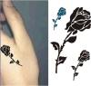 Etiqueta engomada temporal impermeable del tatuaje de la flor de moda