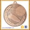 Medalla de cobre amarillo del balompié del alto grado del nuevo diseño de encargo