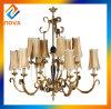 أثر قديم برونزيّة ثريا مصباح لأنّ يعيش غرفة زخرفة