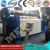 Máquina de rolamento aprovada Mclw12xnc-25*2500 do dobrador da placa do CNC do Ce relativo à promoção