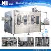 Macchina industriale dell'impianto di imbottigliamento dell'acqua gassosa