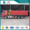 Sinotruk HOWO 6X4 Dump Truck con Crane XCMG 10 Ton