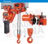 Grua Chain elétrica de levantamento do guincho da manipulação material da Baixo-Altura livre de 2 toneladas