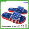 Дешевые тапочки пены памяти печатание американского флага комфорта (RW28605C)