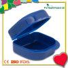 Портативная пластичная коробка ложных зубов