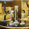 Tall europeu K9 Crystal Candlestick para Home Decoration