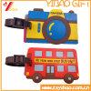 Étiquette molle adaptée aux besoins du client de bagage de PVC de conception (YB-LY-LT-28)