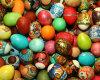 Heiße verkaufende neues Produkt-Filz-Osterhasen-Ei-Dekoration