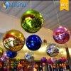 El disco enciende las decoraciones de bolas decorativas Espejo Espejo globo
