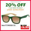 Подгоняйте солнечные очки высокого качества Bamboo деревянные