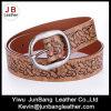 La courroie de courroie gravée en relief par unité centrale de dames la plus neuve pour des jeans