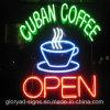 커피 네온사인 최고 질 주문 네온 커피 LED 열려있는 표시
