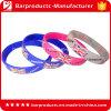 Nenhuns braceletes mínimos do silicone do logotipo da impressão de Coloful