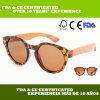 Gafas de sol del marco de la PC de MOQ 1PC con el patrón de moda del guepardo (LS5001-C6)