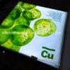 Коробка ткани напряжения светлая с светлым направляющим лист