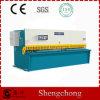 6mm CNC-Ausschnitt-Maschine 3200mm schwingen lang Träger-scherende Maschine